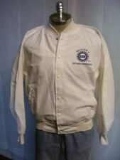 VTG 70's  United Auto Workers Retired UAW Midwest Region 4 Cotton Jacket NOS Med