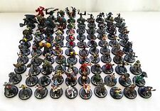 Mage Knight Figures Lot of 100 RPG Miniatures Models D&D Game Dungeons Dragons
