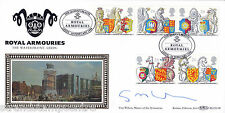 1998 Queen's Beasts - Benham BLCS Off - Royal Armouries H/S - Signed GUY WILSON