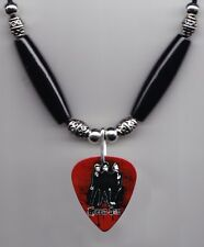 Green Day Band Photo Guitar Pick Necklace #5