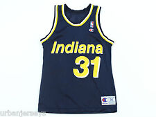 Vintage Indiana Pacers Reggie Miller Jersey by Champion - Size 36 (S)