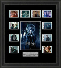 HARRY POTTER AND THE DEATHLY HALLOWS PART 2 MOUNTED FRAMED 35MM CELLS