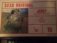 "NITTO SF3D Ma.K. Maschinen Krieger No.10 ""Jerry""  model kit 1:20 scale"