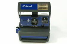 "Polaroid 636 blue instant camera ""in box"" 600 pellicola tested Ref.72173"