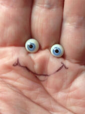 M00638 MOREZMORE Miniature. Glass Eyes 5 mm BLUE Small Tiny Doll Baby T20