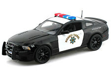 1/18 2013 Ford Mustang Boss 302 Highway Patrol Police Car - LIMITED EDITION!