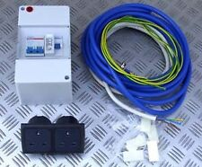 MAINS INSTALLATION KIT 16A 230V CONSUMER UNIT CABLE SOCKETS BOAT CAMPER CARAVAN