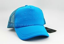 ARMANI EXCHANGE CAP HAT BLUE WITH VENT NET ONE SIZE FITS ALL BRAND NEW