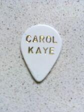 CAROL KAYE GUITAR PICK