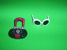 Monster High Scarah Screams White Sunglasses & Purse Doll Clothing Accessoies