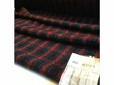 "NEW Italian Multi Colour Wool Check Boucle Fabric 60"" 153cm Designer Catwalk Sew"