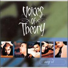 Say It [Single] by Voices of Theory (CD, Feb-1998, HOLA Recordings)
