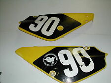 2003 SUZUKI RM 85 L BIG WHEEL REAR SIDE PANELS LEFT AND RIGHT