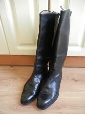 High Boots Soviet Army Officer Leather Size 45 SOVIET made in USSR