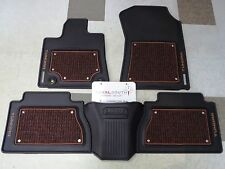 Toyota Tundra 1794 2016 Crewmax Factory All Weather Rubber Floor Mats Genuine OE