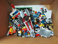 Lot of Lego and other bricks 3-1/2 Pounds Bulk Bricks &  Minifigs Minifigures