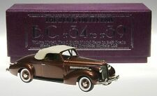 Brooklin BC 009, 1937 Buick Special Convertible M-46C, Begal Brown Poly, 1/43