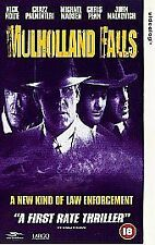 CLASSIC - MULHOLLAND FALLS (VHS,SUR 1998) NICK NOLTE (AS NEW)- RARE & DELETED #S