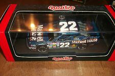 STERLING MARLIN AUTOGRAPHED #22 MAXWELL HOUSE COFFEE QUARTZO 1:43 SCALE (56