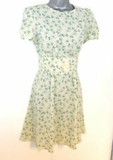 Stunning Topshop Ditsy Floral Print Tea Summer Day Evening Occasion  Dress 10