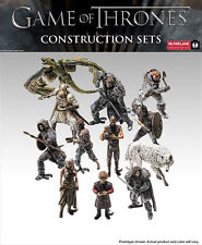 GAME OF THRONES FIGURE 5 CM CONSTRUCTION SET TRONO DI SPADE TYRION GHOST SPETTRO