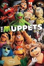 THE MUPPETS SHOW POSTER Disney Jim Henson Kermit Frog NEW Licensed