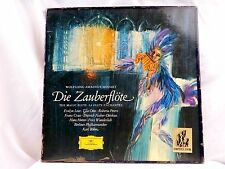 "MOZART ""DIE ZAUBERFLOTE"" THE MAGIC FLUTE; KARL BOHM; DGG STEREO TULIPS 3 LPS"