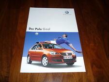 VW Polo GOAL Prospekt 01/2006