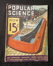 1932 POPULAR SCIENCE Monthly Magazine v.121 #5 New Inventions