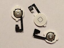 Apple iPhone 4 4G Home Button + Homebutton Flex kabel Weiß White NEU OVP
