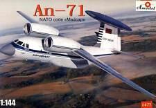 Amodel - Antonov An-71 NATO code  Madcap Soviet AWACS 1:144 Modell-Bausatz Kit