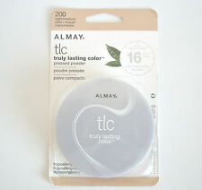 Almay TLC Truly Lasting Color Pressed Powder. Flawless Finish. LIGHT/MEDIUM 200