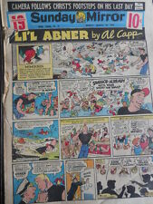 Sunday Mirror 25-03-1956 -  - LI'L ABNER by AL CAPP   [G393A]