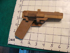 COOL WOODEN JAPANESE PUZZLE GUN TOY