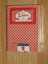VINTAGE HOYLE PGC POKER SIZE DUNES HOTEL/RESORT PLAYING CARDS-SEALED/UNUSED! !