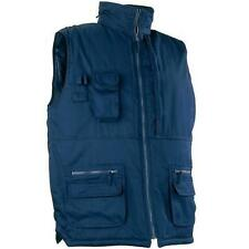 BODYWARMER VEST PADDED WORK GILET JACKET MULTIPOCKET FISHING HUNTING SHOOTING