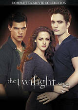 Twilight Saga 5-Movie Collection (DVD) NEW/SEALED