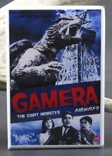 Daikaijû Gamera Movie Poster - Fridge / Locker Magnet. Japanese Kaiju Movie!