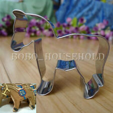 Stainless Horse Cookies Cutter Mold Biscuit Fondant Cake Baking Mould DIY