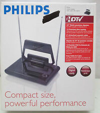 "Philips Indoor Antenna for UHF/VHF/FM/HDTV 34"" Multi Position Dipoles"