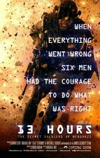 13 Hours Secret Soldiers of Benghazi original DS movie poster - D/S 27x40 Adv