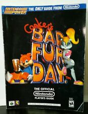 Nintendo Power N64 - Conker's Bad Fur Day Strategy Guide