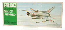 Vintage FROG 1/72 Mig 21 'Fishbed' Model Kit F263