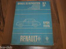 RENAULT DAUPHINE ab 1956 General WERKSTATT HANDBUCH Auflage 1964