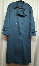 Trench coat With Removable Wool Lining, From London Fog, Sz 10p, 202