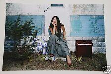 Rachael Yamagata 20x30cm Foto + Autogramm / Autograph signed in Person