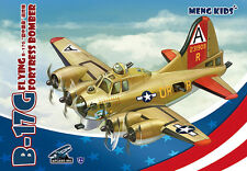 MENG KIDS mPLANE-001 B-17G FLYING FORTRESS BOMBER [Q Edition]