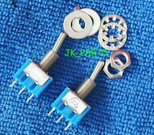 5pcs NEW Mini MTS-102 3-Pin SPDT ON-ON 6A 125VAC Toggle Switches