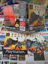 Playstation PS1:Omega Boost [TOP SONY & 1ERE EDITION RARE] COMPLET - Fr
