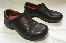 WOMENS MERRELL PRIMO PATCH BUG LEATHER COMFORT WALKING SHOES BROWN Size 7